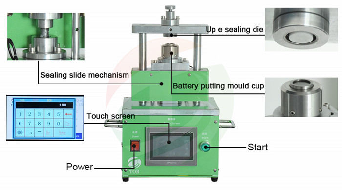 Laboratory Electric Coin Cell Crimping Machine