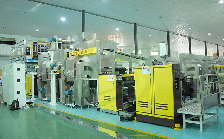 battery extrusion coating machine