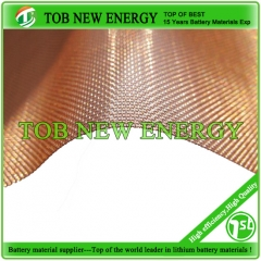 Copper Mesh Foil For Lithium