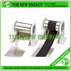 Ultrathin stainless steel foil roll