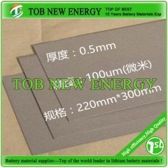 Titanium Foam Supplier T-0.5mm, Size