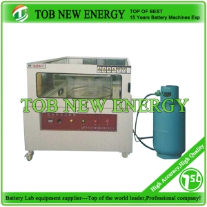 Battery burning test machine