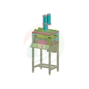 Manually pole piece molding machine