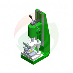 China Leading Super Capacitor Tabs Manual Punching Machine Manufacturer