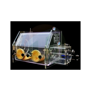 Fully transparent plexiglass glove box