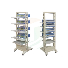 Mobile Rack For Battery Analyzer