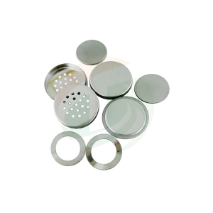 Lithium air button cell case