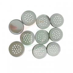China Leading Lithium air coin cell case with meshed-304ss Manufacturer