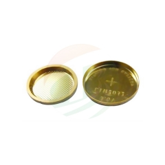 Gold-Coated 304SS 2032 Coin Cell
