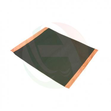 Thermally conductive coated copper foil
