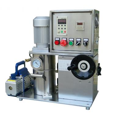 China Leading Lab Vacuum Mixer With Handwheel Manufacturer