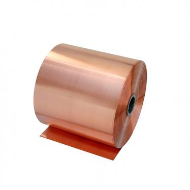 China Leading Lithium Ion Battery Cu Foil Roll 80um Manufacturer