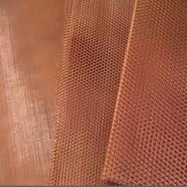 China Leading Copper Mesh Foil For Lithium Battery Anode Substrate width 300mm Manufacturer