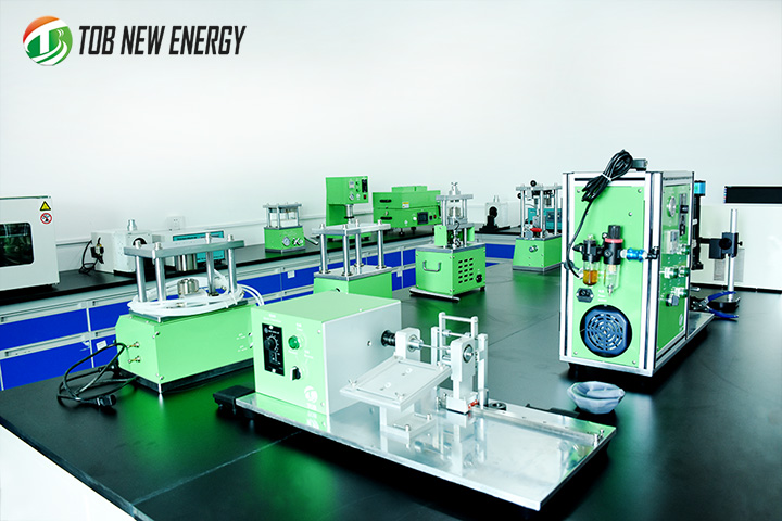 Coin Cell Process Research from TOB New Energy